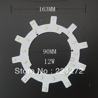 12W Ceiling lamp plate transformation of aluminum substrate LED5730 highlight lamp 12W power 180V-240V