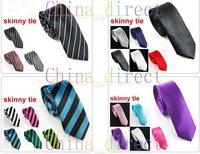Factory direct sale Slim Skinny Tie Neck Tie Mens Tie Necktie ties Neck TIE 100pcs/lot