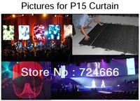 DMX flexible soft led curtain display P18.75 indoor flexible led display curtain soft, video outdoor led display p10 p16 p10
