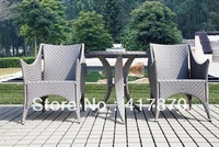 Garden Rattan Leisure Chair with Tea Table Stool Outdoor Furniture Sets