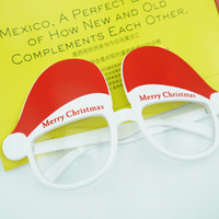 Veerlive christmas hat funny glasses merry christmas glasses