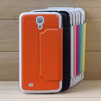 8 Colors Cheap Popular Flip Cover Battery Back Case Para For Samsung Galaxy Mega 6.3 I9200