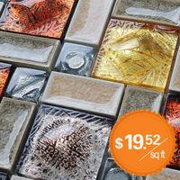 Porcelain Pool Tile Mosaic Art Surface Glass Backsplash Kitchen Design Ideas Bathroom Interior Wall Stickers Floor Tiles Sheet