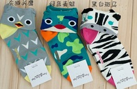 88 ! 2012 autumn and winter cotton socks animal head socks sock socks