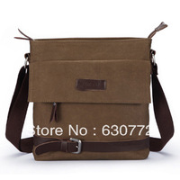New arrival free shipping Korean version of the influx of men and men's canvas bag men's shoulder bag Messenger bag man bag diag
