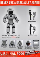 U . r . i . - nal-9000 - robot model limited !