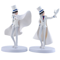 2 pcs  magic Kaitou Kid  Conan EDOGAWA anime figures pvc toys
