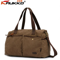 100% cotton canvas vintage large capacity travel handbag tote shoulder luggage bag for men, wholesale, free shipping  6228