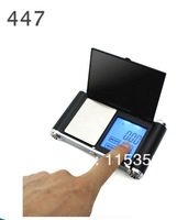 New APTP447 500g x 0.01g touch screen Digital Pocket Scale (battery included)