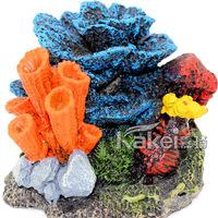 Fish tank aquarium large and small decoration rockery coral aquarium decoration resin crafts,Size 14*12*10cm