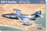 Hb Small f9f-3 fighter model 87250