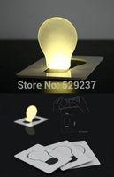 Free shipping Card led light,Pocket LED Card Light,LED light,Wallet light lamp with magnifying function