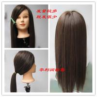FREE SHIPING Hair maker headform head model mannequin head doll head high temperature wire mannequin head