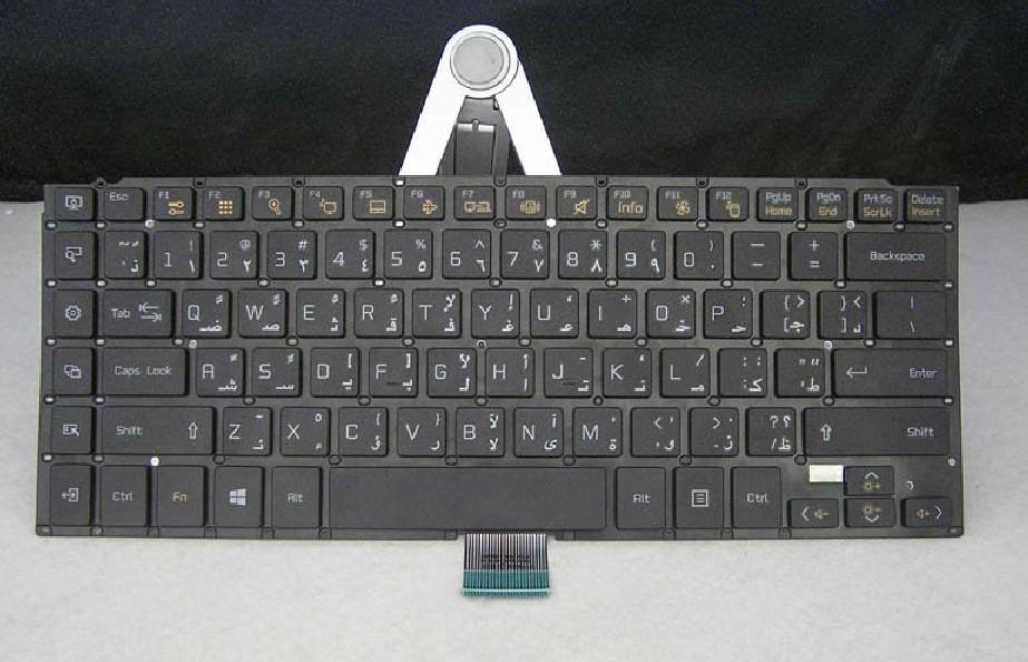 ORIGINAL NEW laptop keyboard for LG U460 Arabic(China (Mainland))
