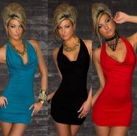 2013 New Arrival Sexy Lingerie Set Women Mini Dress + T Back Set Backless Sleepwear G String  Free Shipping !