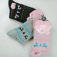 FREE SHIPPING Korean deer rabbit wool socks wholesale