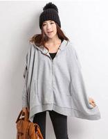 2013Korean version of the new spring maternity hoodies,pregnant women bat sleeve coat,maternity cardigan tops
