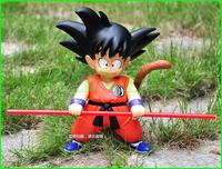 Free Shipping Japanese Anime Cartoon Dragon Ball Action Figures Toys Kakarotto 21cm PVC Doll Model Collection Christmas Gift