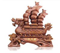 Boat decoration sailing boat model decoration Large opening gifts