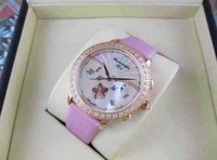 2013 hot item Free shipping Vintage fashion flower diamond pointer white genuine leather watch