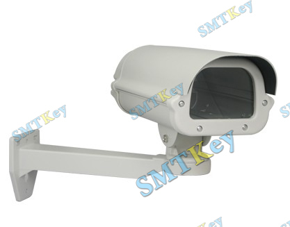 CCTV Camera Housing Shield With Heater Fan Bracket Weather Proof(China (Mainland))