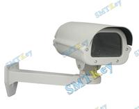 CCTV Camera Housing Shield With Heater Fan Bracket Weather Proof