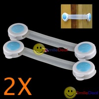 Free shipping: 2 Cupboard Drawers Fridge Baby Child Safe Lock Band #3 wholesale