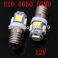 Free shipping 10X E10 led bulbs led auto E10 lamps led E10 car bulb free shipping 10pcs/lot