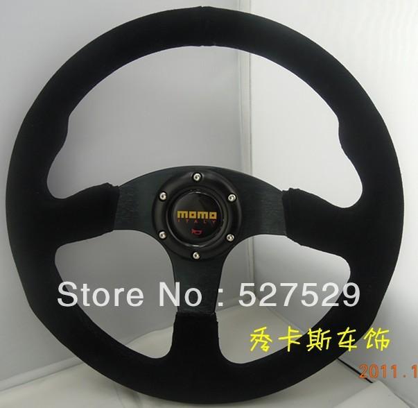 Momo Steering Wheel Suede Suede Alloy Steering Wheel