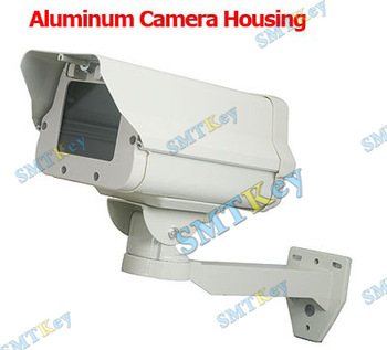 Lacte Aluminum Camera Shield Housing Case For Security CCTV Box Camera Bracket