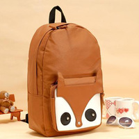 Fox backpack school bag backpack bags female bags 2013 female shoulder bag