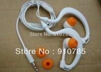 Wholesale---ear-hook   earphone  waterproof earphone   3.5mm earphone for mp3 mp4 player