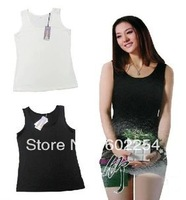 Hot Wholesale!!! Free Shipping Comfortable Breathable ECO Fabric Bamboo Womens underwear Girls Camisole Ladies Tank Tops