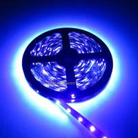 free shipping 16.4ft 5M UV Ultraviolet 395nm 5050 SMD Purple 300 LED Flex Strip Light NP 12V