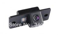 Free shipping HD waterproof backup reverse parking car rear view camera for Skoda Fabia