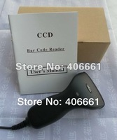 USB 20 mm Long CCD Bar Code Reader Barcode Scanner RED leds Light special offer a clearance
