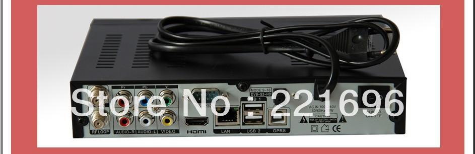 Original Openbox S16 1080P HD PVR FTA Satellite Receiver(China (Mainland))
