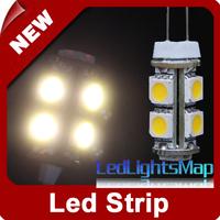EMS Free Shipping G4 9Led 5050 SMD LED Day Warm White Light Car RV Boat Bulb Lamp Wholesale 100pcs/lot