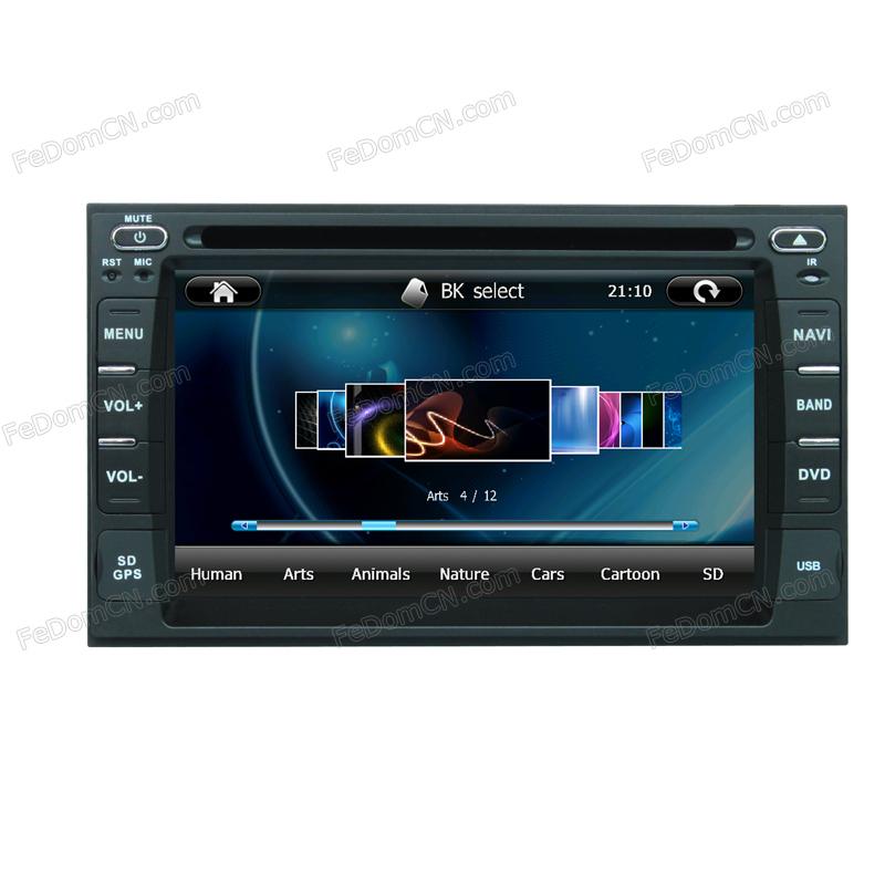 Universal 2 Din Original steering wheel controls car video radio with iPod connectivity(China (Mainland))