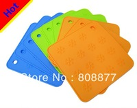 Snow pattern silicone heat pads silicone pot holder 10pcs per lot free shipping