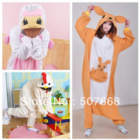 1pcs Kangaroo Chick Angel Cosplay Costumes Animal Leopard Kigurumi Anime Pyjamas Sleepwear new arrival