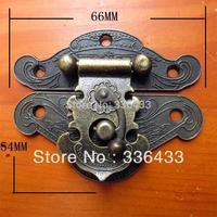Wholesale Antique Box buckle / alloy buckle / decorative buckle hinge / home improvement hardware accessories 66 * 54mm