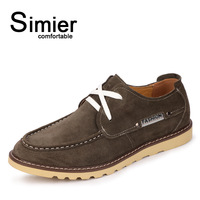 Simier fashion boat shoes suede cowhide casual shoes 2991