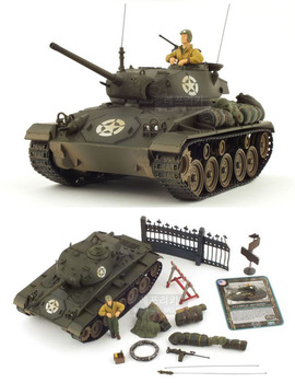 Fov ! 80048 m24 tanks model of world war ii m24 joffre tanks