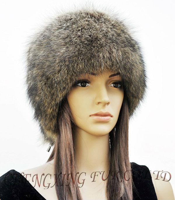 CX-C-93 Genuine American Raccoon Fur Hat Manufacturer(China (Mainland))
