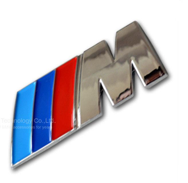 Top Metal M Power Car Logo Emblem Badge For Bmw 1 3 5 X5