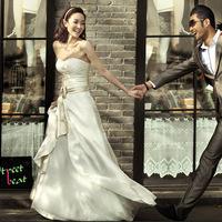 2013 tube top wedding dress princess sweet wedding qi ff01070
