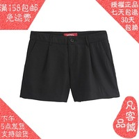 Vancl summer women shorts 2013 chiffon all-match shorts black