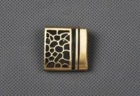 Brass Habaki Sword Collar for Japanese Samurai Sword Katana Wakizashi Tanto DZ02
