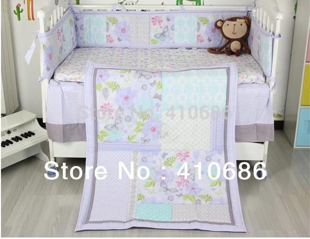 Slaapkamer Kopen Goedkoop : Purple Baby Girl Crib Bedding Sets